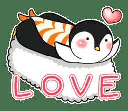 Sushi Animal English edition sticker #3205109