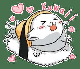 Sushi Animal English edition sticker #3205117