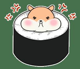 Sushi Animal English edition sticker #3205120