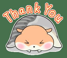 Sushi Animal English edition sticker #3205124