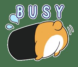 Sushi Animal English edition sticker #3205128