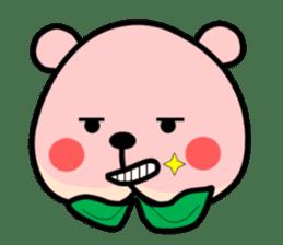 Sweet Peach Bear sticker #3207491