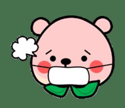 Sweet Peach Bear sticker #3207492