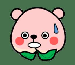 Sweet Peach Bear sticker #3207493