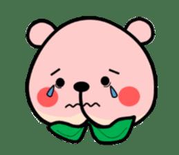 Sweet Peach Bear sticker #3207494