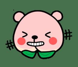 Sweet Peach Bear sticker #3207495