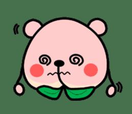 Sweet Peach Bear sticker #3207499