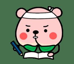 Sweet Peach Bear sticker #3207503