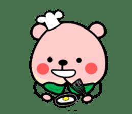 Sweet Peach Bear sticker #3207505