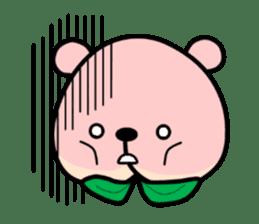 Sweet Peach Bear sticker #3207510