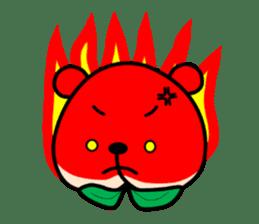Sweet Peach Bear sticker #3207512