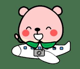 Sweet Peach Bear sticker #3207516