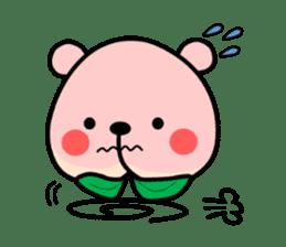 Sweet Peach Bear sticker #3207519