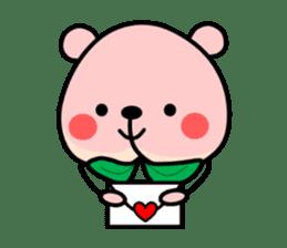 Sweet Peach Bear sticker #3207521