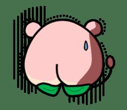 Sweet Peach Bear sticker #3207523