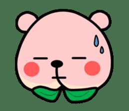 Sweet Peach Bear sticker #3207524