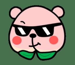 Sweet Peach Bear sticker #3207525