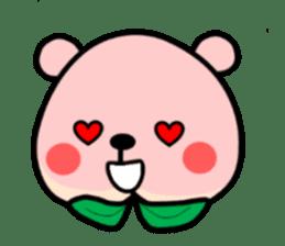 Sweet Peach Bear sticker #3207527