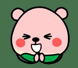 Sweet Peach Bear sticker #3207530