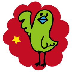 Little green bird(Chinese ver.)