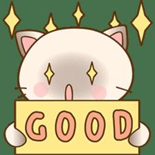 Funny Siamese kitten sticker #3221263