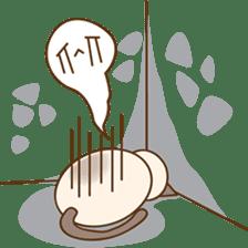 Funny Siamese kitten sticker #3221268