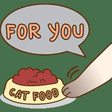 Funny Siamese kitten sticker #3221291