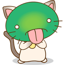 Funny Siamese kitten sticker #3221296