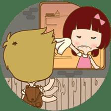 The sweet newlywed couple sticker #3221754