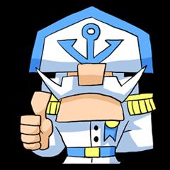 Admiral- White Beard