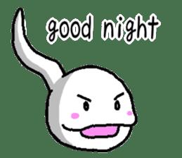 Tadpole(albino) Stickers  English ver sticker #3229261