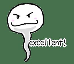Tadpole(albino) Stickers  English ver sticker #3229268