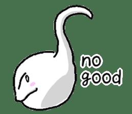 Tadpole(albino) Stickers  English ver sticker #3229293