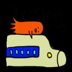 He is an alien, a sausage-man.Part4.