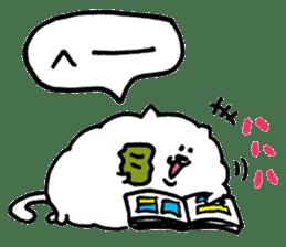 Kawaii! Fluffy cat sticker #3231301