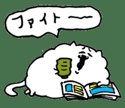 Kawaii! Fluffy cat sticker #3231302