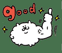 Kawaii! Fluffy cat sticker #3231307