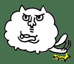 Kawaii! Fluffy cat sticker #3231310
