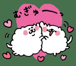 Kawaii! Fluffy cat sticker #3231313