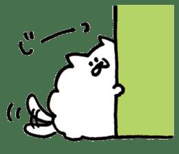 Kawaii! Fluffy cat sticker #3231315