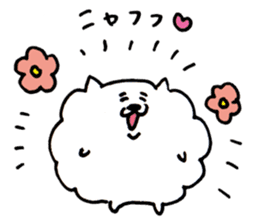 Kawaii! Fluffy cat sticker #3231322