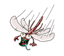 Full funny Insects sticker #3235823