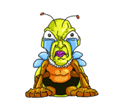 Full funny Insects sticker #3235848