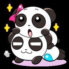 Cute Valentine Panda Couple