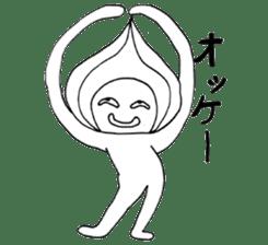 Mr.Onion sticker #3238309