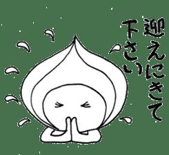 Mr.Onion sticker #3238312