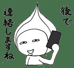 Mr.Onion sticker #3238316