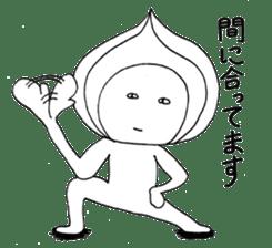 Mr.Onion sticker #3238324