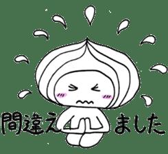 Mr.Onion sticker #3238326