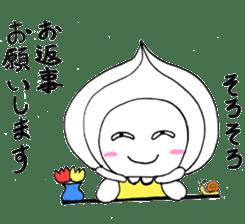 Mr.Onion sticker #3238329